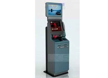Loyalty / Complimentary Self Service Ticket Machine Automate Cash Accepting