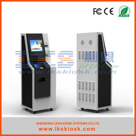 Chiny Intelligent Cash Payment Kiosk Charge Self Services Windows 7/8/10 OS.  Bankomat fabryka